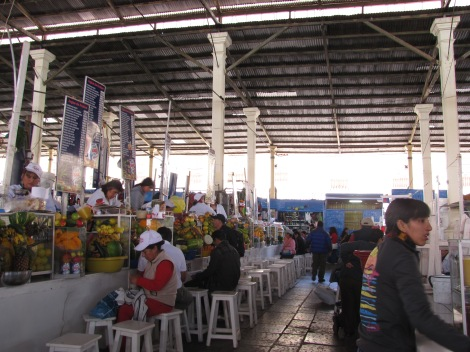 El mercado local.