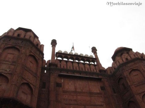 Red Fort, antiguo fuerte Moghol.
