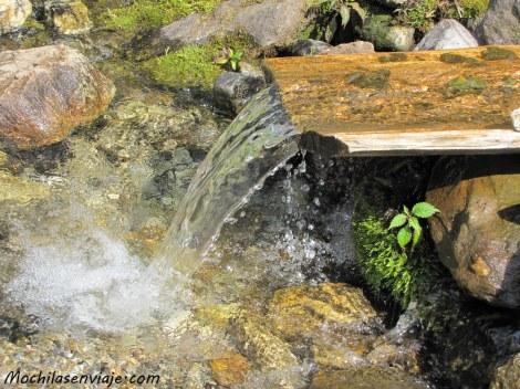 Impresiona hasta en las pequeñas cascadas