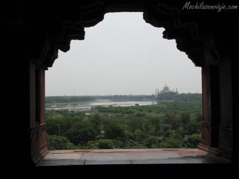 Nuestra última mirada desde el Agra Fort