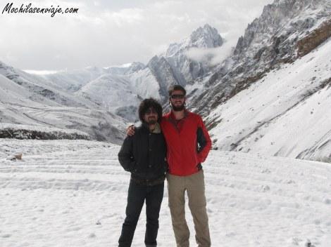 La nevada que nos regalo el Himalaya