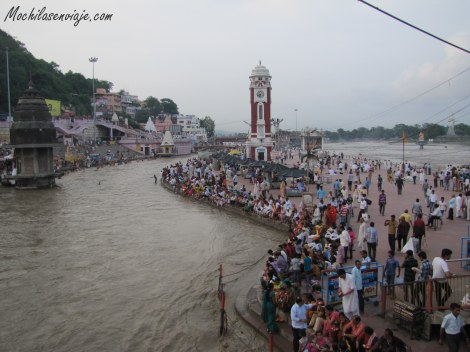 Celebreación en Haridwar