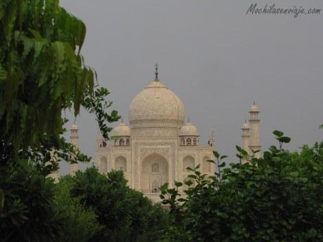 Allí nos esperaba el Taj Mahal, ya les contaremos más