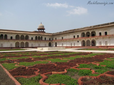En Agra Fort