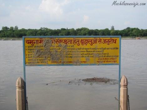 Mathura, en las orillas del río Yamuna