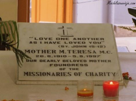 Tumba de la Madre Teresa.