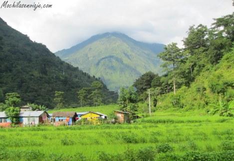 Los pueblitos del Annapurna.