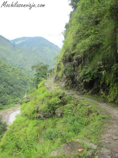 Los senderos de trekking
