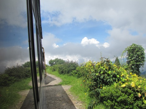 Vistas desde el toy-train - Darjeeling