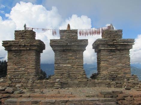 Ruinas de la antigua capital de Sikkim, cerca de Pelling