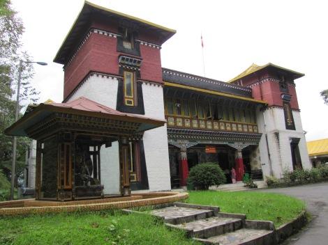 Museo tibetano en Gangtok