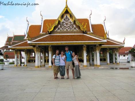 Con Benja y Jime en Bangkok