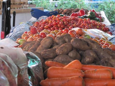 Las verduras no se quedan atrás. Aclaración: La gorra no esta a la venta.