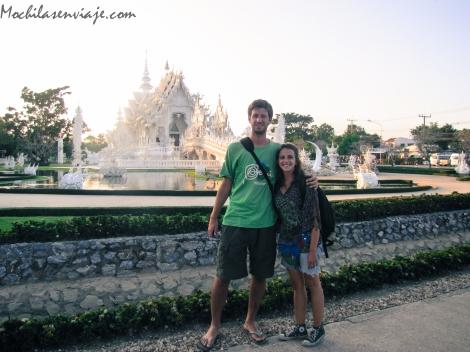 En Wat Rong Khun, o templo blanco