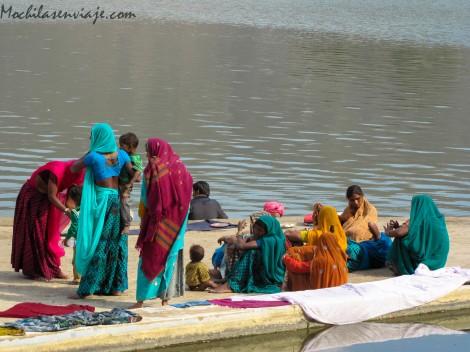 Pushkar - India - Sari