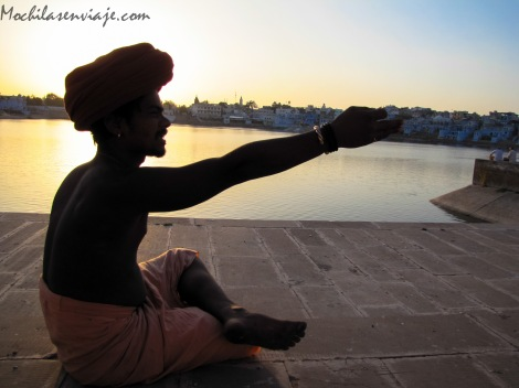 Pushkar - India - Sadhu
