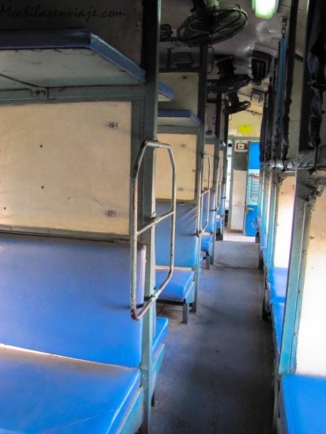 El vagón de la clase slepper